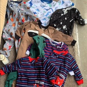 Lot of boys sleepers brand new condition